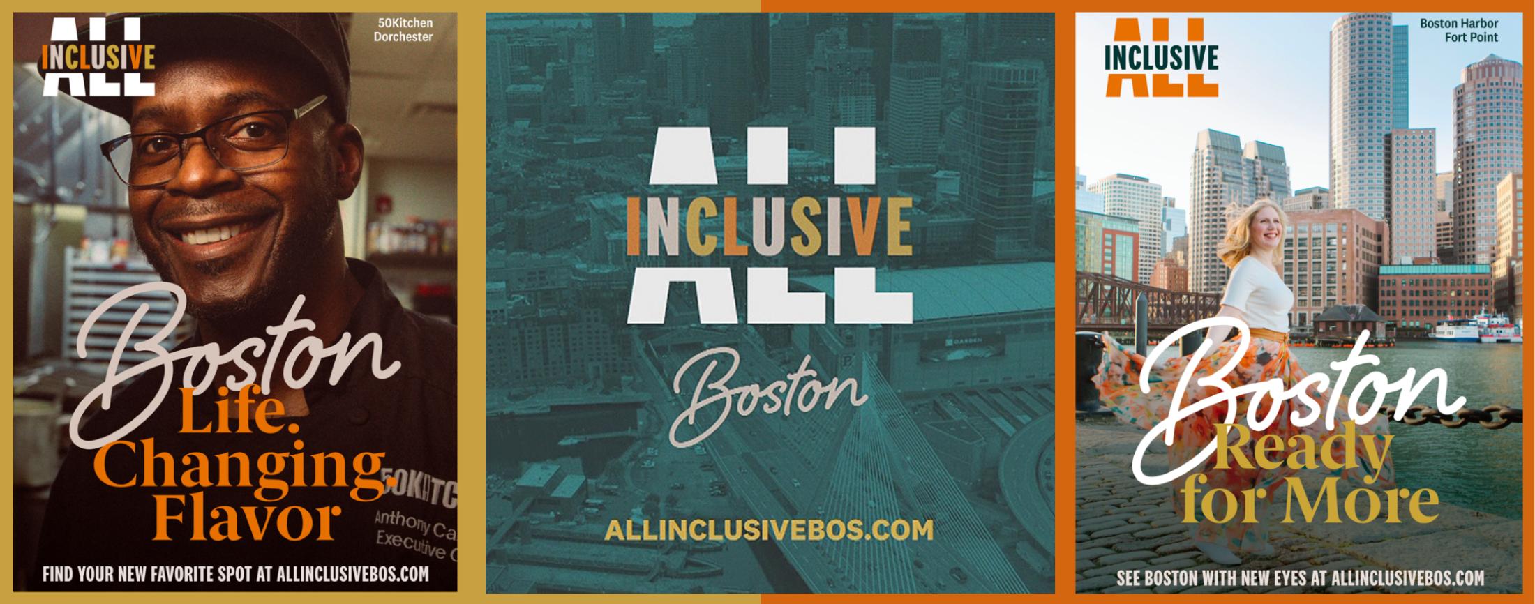 """New """"All Inclusive Boston"""" Campaign Celebrates Boston's Diversity"""
