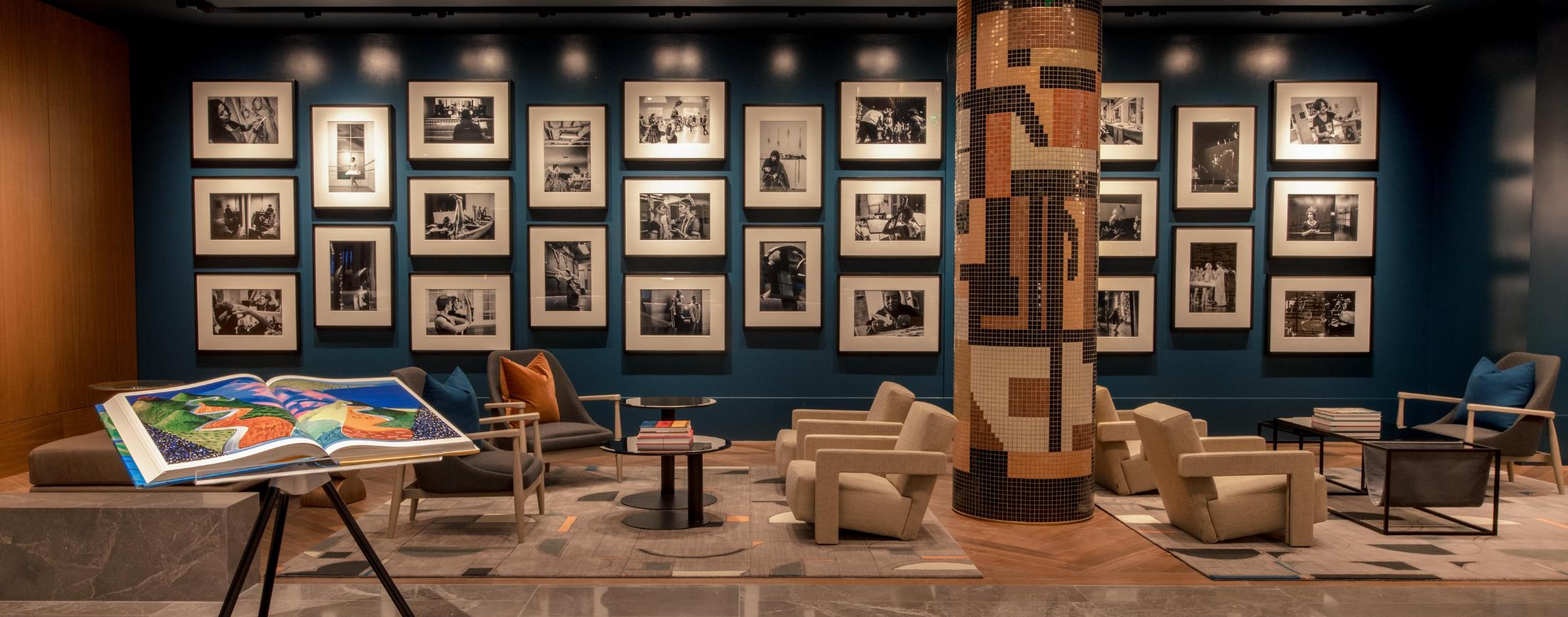 Inside the New Omni Boston Hotel at the Seaport