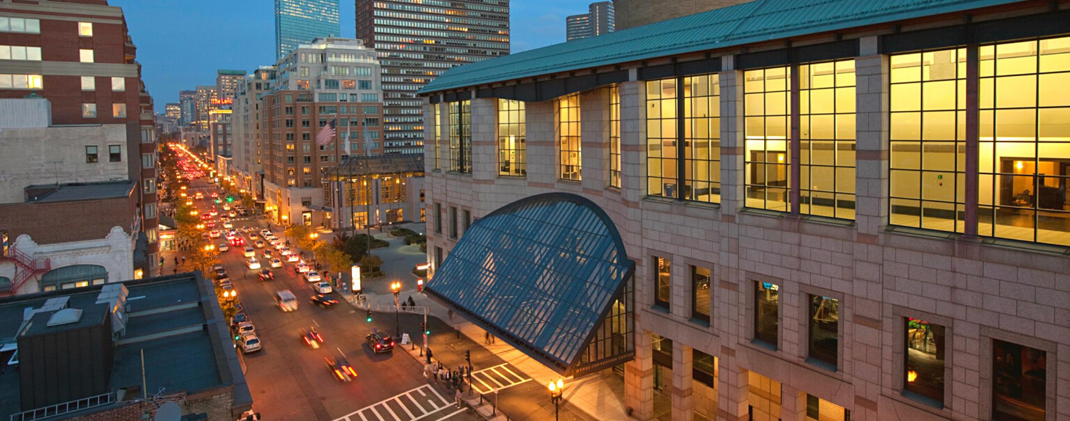 A New Virtual Tour of the Hynes & Boston