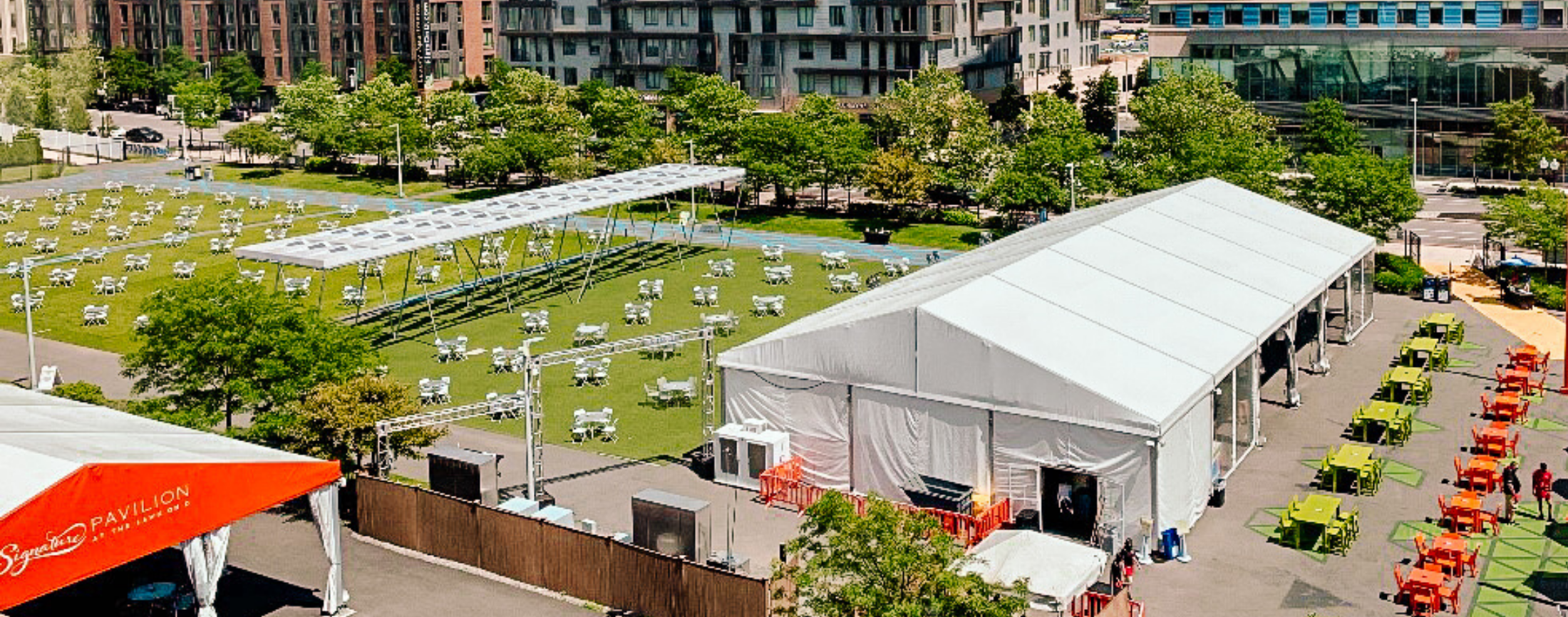 The Lawn On D Reopens As an Outdoor Restaurant